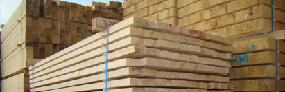 Pallet timber and timber for packaging
